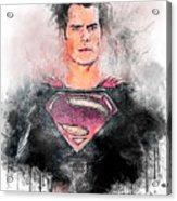 Superhero Acrylic Print
