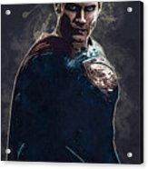 Superhero.superman. Acrylic Print