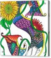 Superior Swan Acrylic Print