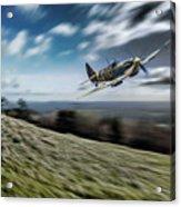 Supermarine Spitfire Fly Past Acrylic Print