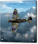 Supermarine Spitfire Vb Acrylic Print