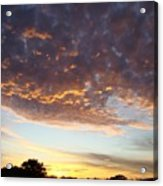 Supernatural Sunset Two Acrylic Print