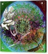 Superstar Electromagnetic Starchild Acrylic Print