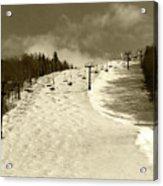 Superstar Skiing Acrylic Print