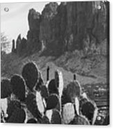 Superstition Mountain 2 Acrylic Print