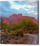 Superstition Mountains Arizona Acrylic Print