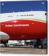 Supertanker At Colorado Springs Acrylic Print
