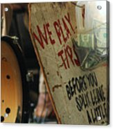 Support Our Music New Orleans Acrylic Print