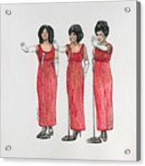 Supremes Acrylic Print
