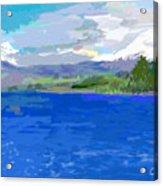 Sur De Chile Encanto Acrylic Print by Carlos Camus