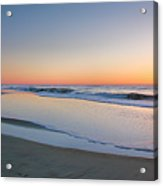 Surf And Sand II  Acrylic Print by Steven Ainsworth