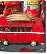 Surf Bus Acrylic Print