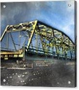 Surf City Nc Swing Bridge Acrylic Print