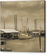 Surf City North Carolina Acrylic Print