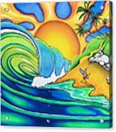 Surf Dude Acrylic Print