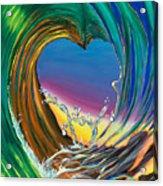 Surf Love Clark Little By Luke Acrylic Print