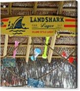 Surf This Tiki Hut Acrylic Print