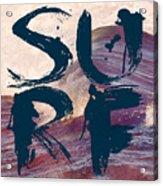 Surf V1 Acrylic Print