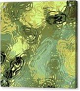 Surface Of An Ohio Creek Acrylic Print