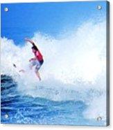 Surfer Alex Ribeiro - Nbr 3 Acrylic Print
