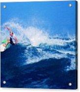 Surfer Charles Martin Nbr. 3 Acrylic Print