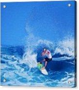 Surfer Charles Martin Acrylic Print