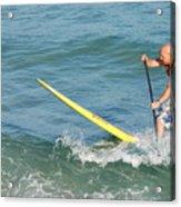 Surfer Dude Acrylic Print