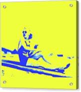 Surfer Girl 1940s Acrylic Print