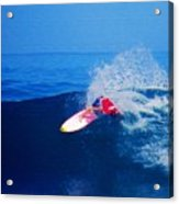 Surfer Glenn Hall - Nbr 1 Acrylic Print