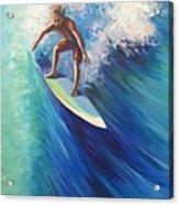 Surfer II Acrylic Print