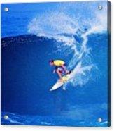 Surfer Mitch Crews Acrylic Print