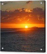 Surfers Beach Acrylic Print