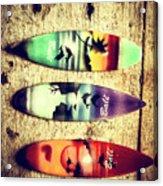 Surfers Parade Acrylic Print
