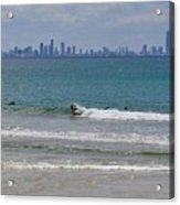 Surfers Paradise  Acrylic Print