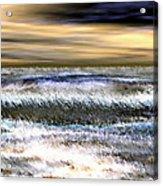 Surfer's Sunset Acrylic Print