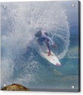 Surfin The Sky 01 Acrylic Print