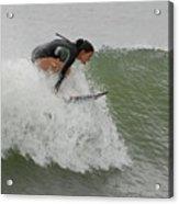 Surfing 170 Acrylic Print