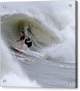 Surfing Bogue Banks 1 Acrylic Print