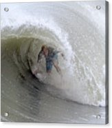 Surfing Bogue Banks 4 Acrylic Print