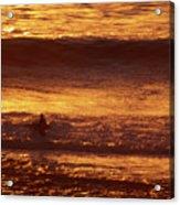 Surfing California Acrylic Print