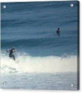 Surfing Carmel Beach Two Acrylic Print