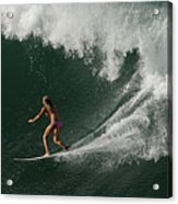 Surfing Hawaii 2 Acrylic Print