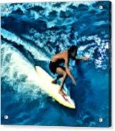 Surfing Legends 12 Acrylic Print