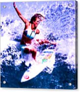Surfing Legends 6 Acrylic Print
