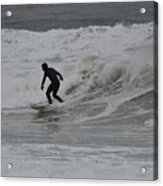 Surfing, N. Hampton Nh Acrylic Print