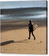 Surfing On Air  Acrylic Print
