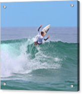 Surfing Panorama Acrylic Print