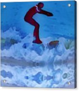 Surfs Up Acrylic Print