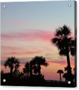 Surfside Sunset Acrylic Print