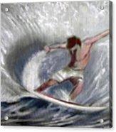 Surf'sup Acrylic Print